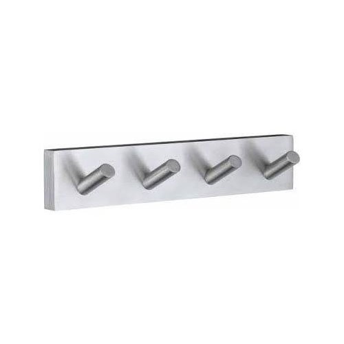 Smedbo Bathroom House Quadruple Towel Hook Brushed Chrome by Smedbo