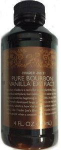 Trader Joe's Pure Bourbon Vanilla Extract - 4 Fl. Oz., 118ml in Plastic Bottle Bourbon Vanilla Extract