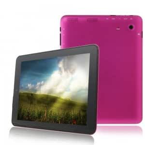 """8"""" Capacitive Screen ATM-7029 Quad-Core Android 4.1.1 8GB Tablet PC Camera HDMI Pink"""