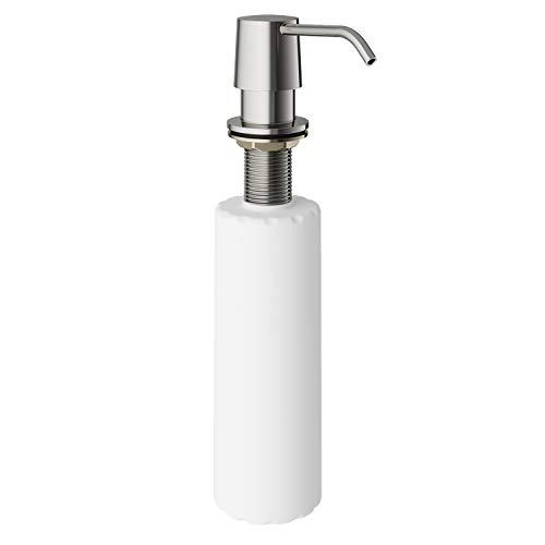 VIGO 12-Ounce Soap or Lotion Dispenser, Stainless Steel