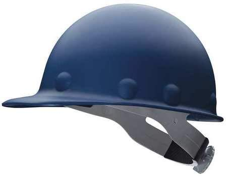 Honeywell P2ARW71A000 Fibre-Metal by Blue Roughneck Fiberglass Cap Style Hard Hat with SuperEight 3R 8 Point Ratchet Suspension, Plastic, 1