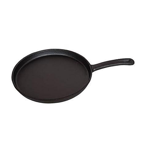 Sartenes de hierro fundido con mango Steak Pan sarten grill antiadherente 26 cm: Amazon.es: Hogar