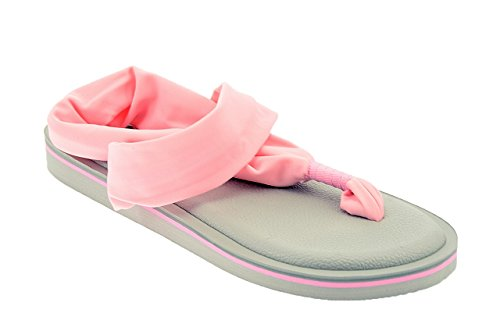 Tongs Rose Femme JOY COLORS pour 7wqxf5