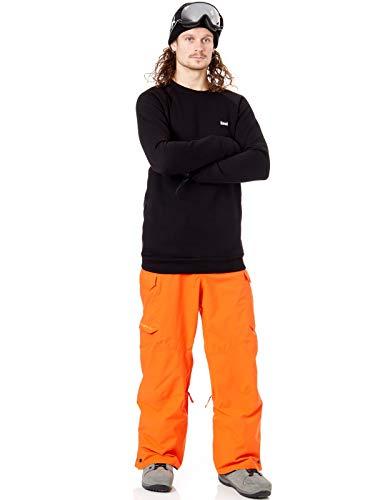 De Bro Sudadera N Chill Negro Crew Shred Snowboard BqS5q 00099ffc141