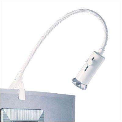 (WAC Lighting DL-024-BK Display Light Line Voltage, Brushed Nickel)