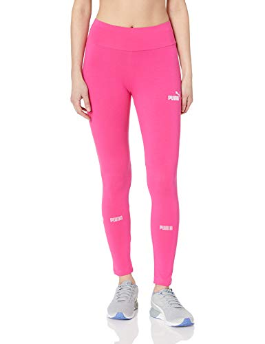 Pink Ladies Clothes (PUMA Women's Amplified Leggings, Fuchsia Purple,)