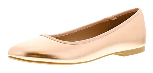 Platino Christina 2 Womens Flats Rose Gold - Rose Gold - UK Sizes 3-9 Gp9CwOD