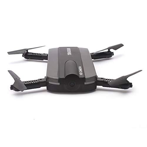 Para JINXINGDA 523 Tracker 2.4G Mini Selfie RC Drone Quadcopter plegable con cámara FPV Wifi Mantener la altitud G-sensor VS JJRC H37