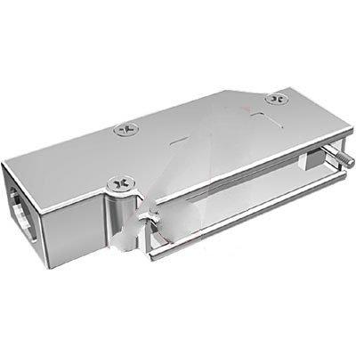 Northern Technologies N30E950000 Hood; D-Sub; 25Pos; 90DegExit; CMRSeries; Metal; 10.16-13.72mmCblDia; LowProfile