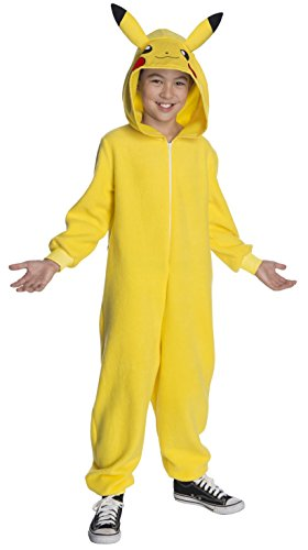 Pokémon Deluxe Child's Pikachu Costume, Medium -