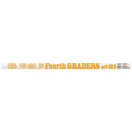 Fourth Graders are #1 Pencils (box of 12)