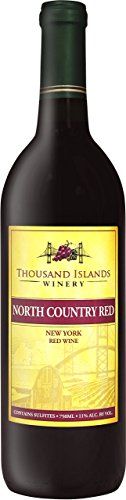 NV Thousand Islands Winery® North County Red® Red Wine 750 ml