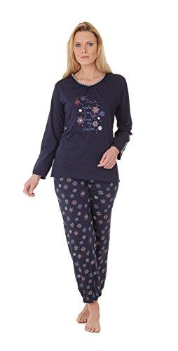 hajo - Pijama - Estrellas - para mujer Marine