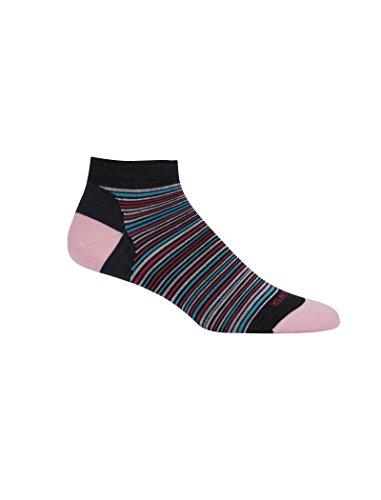 Icebreaker Merino Women's Lifestyle Ultra Light Low Cut Multi-Mini Stripe Socks