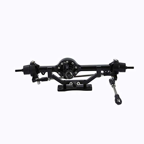 KEKJORY 1Pair Complete Alloy Front /& Rear Axle for RC4WD D90 1//10 RC Crawler