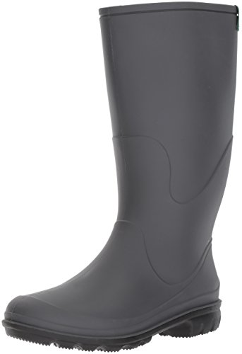 Kamik Women's Miranda Rain Boot, Charcoal, 8 D US