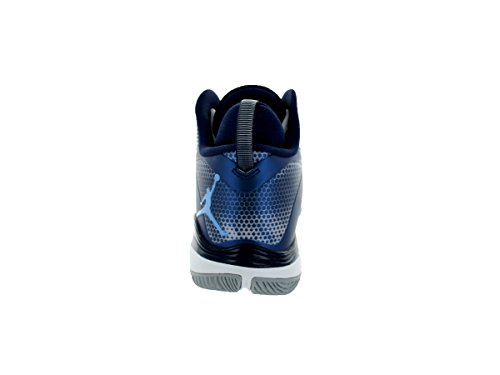 nike air jordan 3 super.fly BG-hi-top-sneakers Sneaker 684936 basketball weiß/blau (White/Legend Blue/Mdnght Navy)