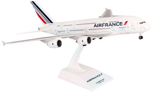 Daron Skymarks Air France A380 Model Kit with Gear (1/200 (France Airplane)