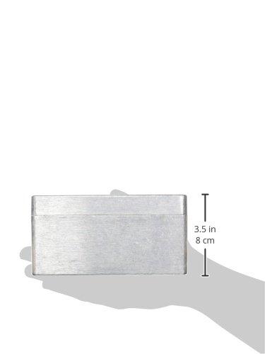 BUD Industries AN-1317-A IP68 Aluminum 6.29x3.93x3.19 enclosure Natural Inc.