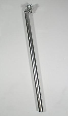 reforzados XXL Aluminio Tija de sillín 50 cm hasta 125 kg extralarga (aluminio.