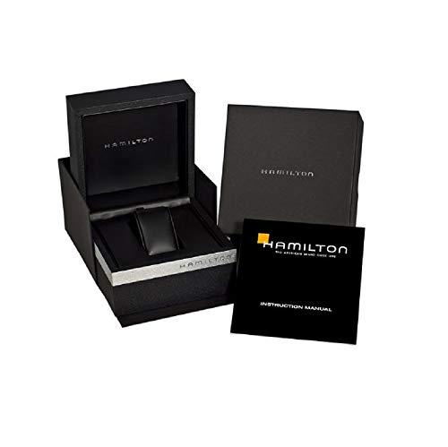 Hamilton Jazzmaster Automatic Skeleton Dial Black Leather Strap Men's Watch H42535780