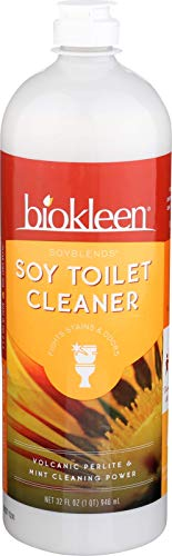 (Biokleen Soy Toilet Scrub, Stain & Odor Fighting, Toilet Cleaner with Micro-Scrubbers, Eco-Friendly, Non-Toxic, Plant-Based, 32 Ounces (Pack of 12))