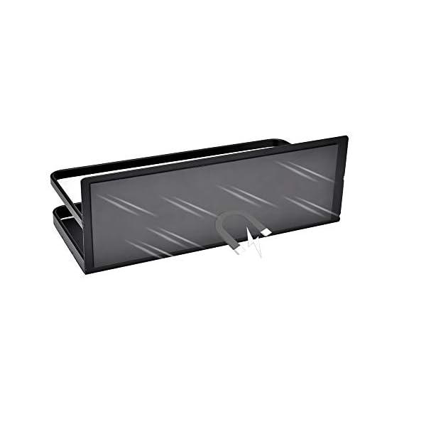 311yRaTwa%2BL OIZEN Kühlschrank Regal Hängeregal für Kühlschrank Magnet Gewürzregal mit Ablage Küchenregal Küchen Organizer…