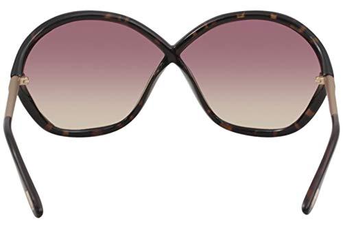 Havana Ford dark Violet Lunettes Tom 52z Ft0529 Gradient Or C71 De Soleil Bella Mirror qwxzwa1Bt