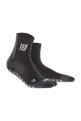 Men's Griptech Short Socks, Black, IV