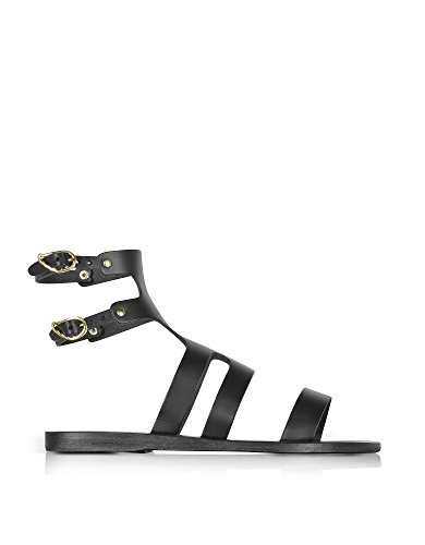 ANCIENT GREEK SANDALS FEMME AGAPIBLACK NOIR CUIR SANDALES