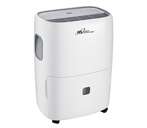 Royal Sovereign Rdh-370P 70 Pint Dehumidifier with Pump, Lar