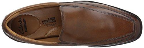 Loafer Tilden Slip Free On Men's CLARKS Tan Dark q8C6wFR