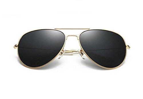 Dorado Worclub Retro HD Neutral Polarized UV400 Gris Trend Sunglasses Trend PqgOq