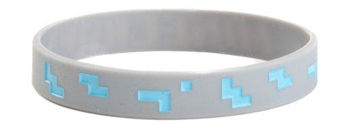 Minecraft Bracelet - Diamond Rubber Pvc S/M New Licensed Gifts Toys J3176-M RD4S1