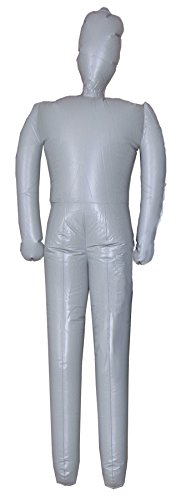 UHC Inflatable Male Mannequin Body Theme Party Decoration Halloween Prop