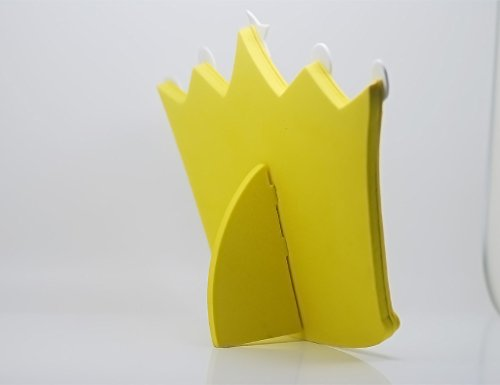 """EMILYSTORES Princess Prince Toys Unbreakable Size 5"""" Prince Mirror For Children Kids Royal Crown Yellow Color"""