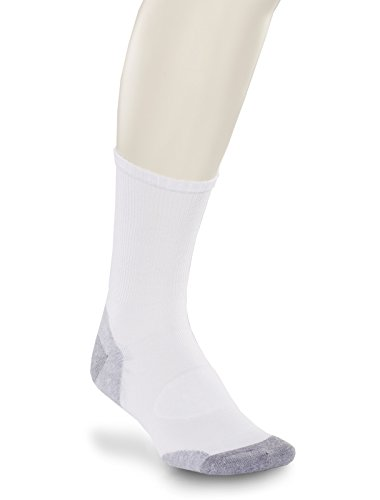 Harbor Bay by DXL Big and Tall 3-Pack Balance Point Continuous Comfort Crew Socks