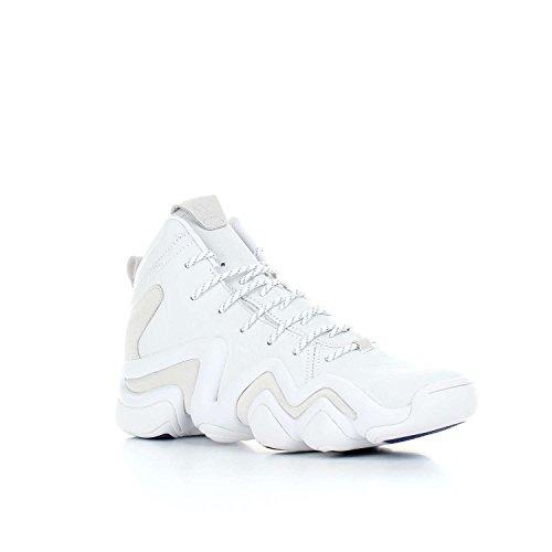 adidas Originals Herren Schuhe/Sneaker Crazy 8 ADV Weiß 42 2/3