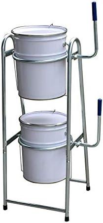 ペール缶スタンド オイル缶スタンド メッキ仕様 4702m