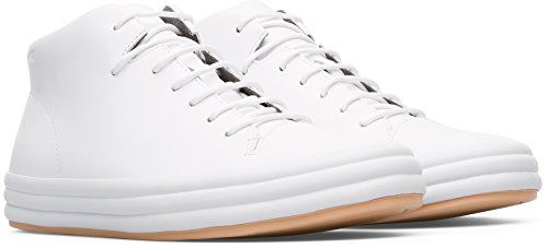 Hautes Camper 100 Hoops white Femme Baskets Weiß Natural E1nzpqZwx1