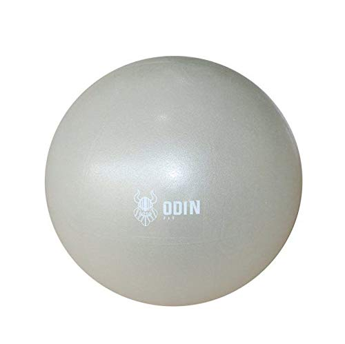Overball Softgym 26 Cm Ginastica Cinza Odin Fit