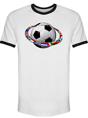 International Soccer Ring Ri Tee Men's -Image by Shutterstock