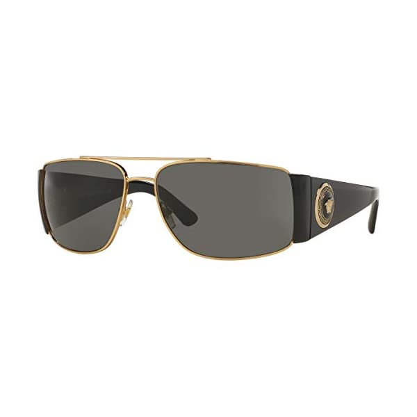 Versace Men's VE2163 Gold/Black/Grey