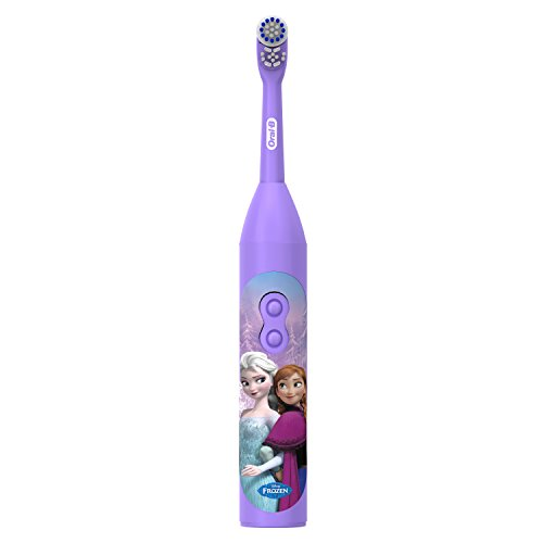 Oral-B Pro-Health Jr. Battery Powered Kid's Toothbrush featuring Disney's Frozen, Soft, 1ct, Styles May Vary ()