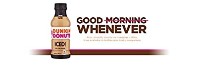 Dunkin' Donuts Espresso Iced Coffee Bottle, 13.7 fl oz
