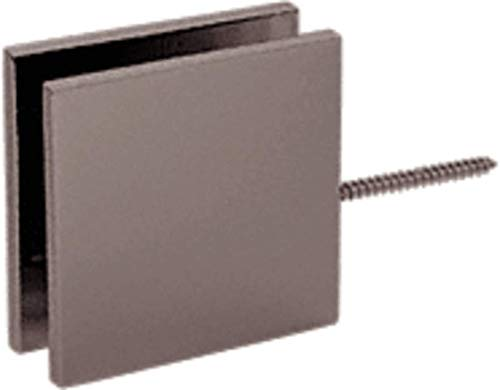 CRL Oil Rub Bronze Square Wall Mount Movable Transom ()