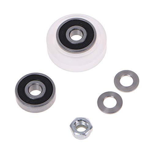 High Precision CNC Clear 625 RS Polycarbonate Delrin Xtreme V Wheel Kits for 3D Printer for Openbuilds V-Slot Linear Rail System