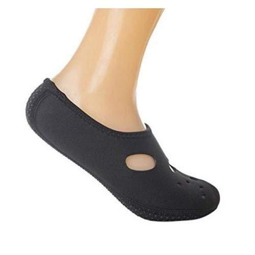 Vertvie Unisex Quick-Dry Water Socks Lightweight Aqua Shoes Barefoot for Swim, Diving, Garden, Yoga