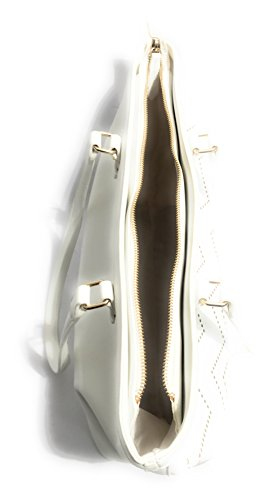 Bianco MARIO VALENTINO Schultertasche VALENTINO BY Weiß Damen Fqw6x17