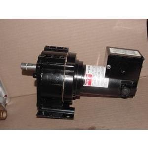 DAYTON 1/20HP INDUSTRIAL DC GEAR MOTOR 90VDC 35:1 51 RPM SINGLE SHAFT
